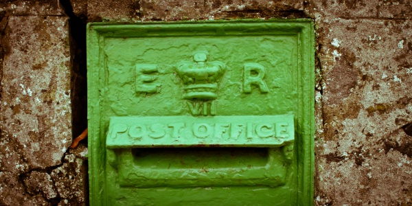 My local Edwardian postbox.